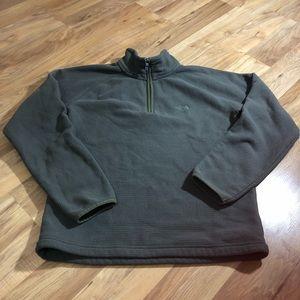 The Northface Men's Sz S Green Fleece Jacket